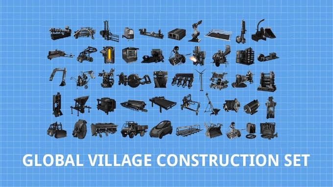 The whole Global Village Construction Set