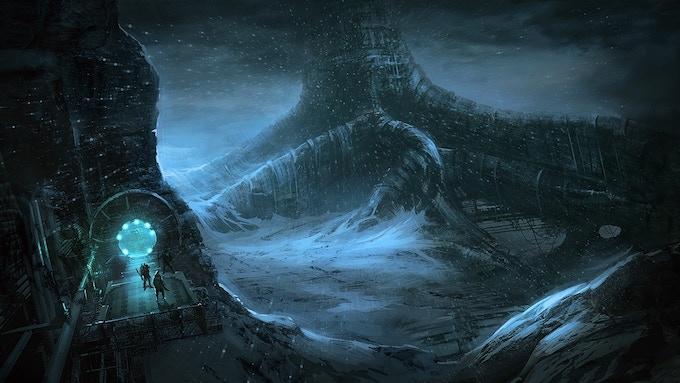 "Illustration from ""The Dark North - Volume 1"". Artist : Joakim Ericsson."