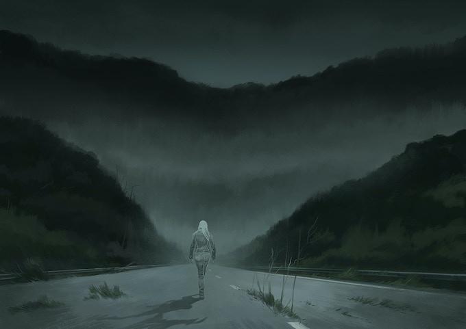 "Illustration from ""The Dark North - Volume 1"". Artist: Peter Bergting."