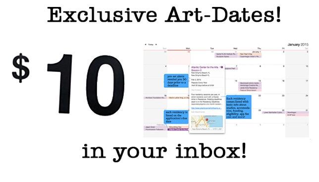 $10 Art-Dates Calendar