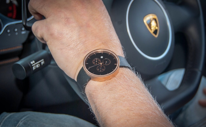 ASTONCAIN | 002 - Rose Gold Edition in a Sports Car