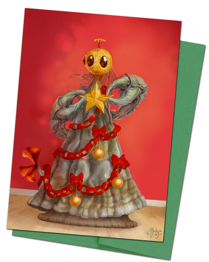 Card #3 - The Yithmas Tree