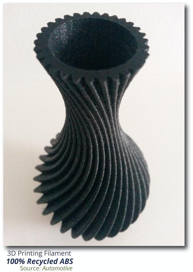 rABS 3D Printed Vase