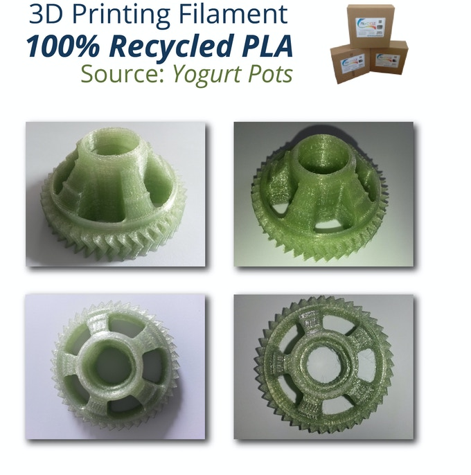 rPLA 3D Printed Objects