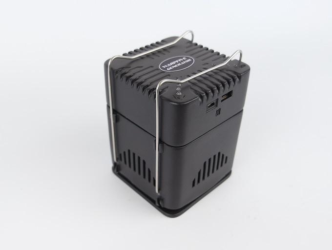 Warpfive Generator - measures 110mm (H) x 85mm (W) x 85 mm (L)