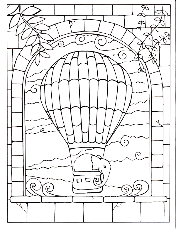 Fortuna the Coloring Book for
