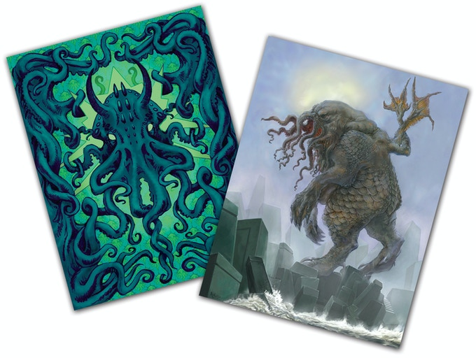 """C'thulhu Dreams"" and ""When the Sleeper Awakes"" Notecards"