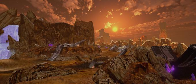 """""""Olympus"""" in-game screenshot"""