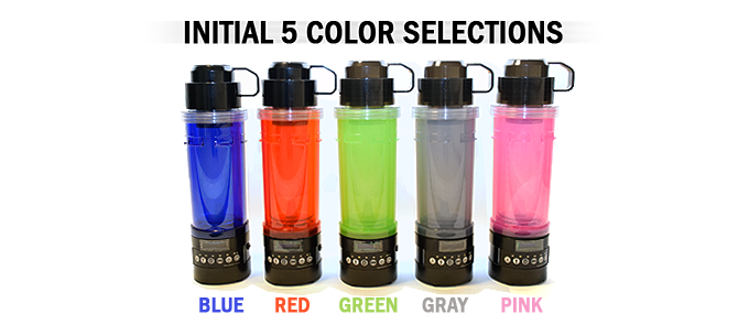 Helobottle The Original 9 In 1 Utility Water Bottle By