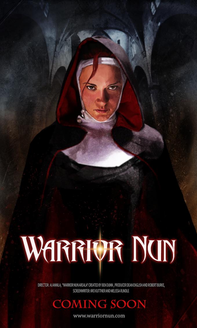 WARRIOR NUN - Temp Poster 3