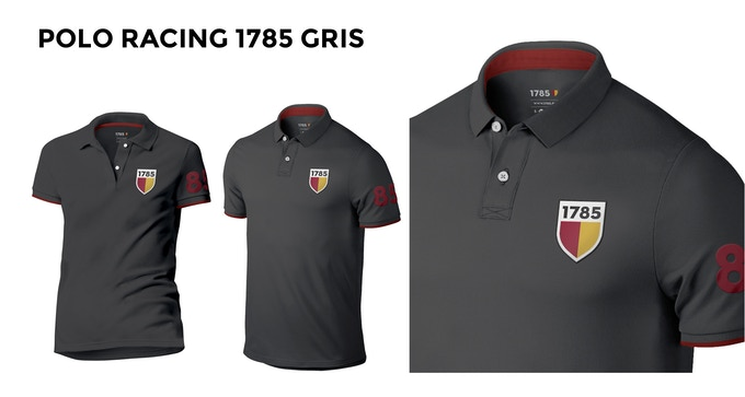 POLO RACING 1785 GRIS MARENGO
