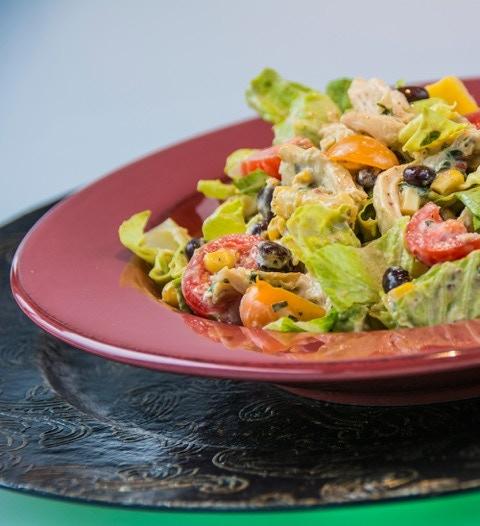Chicken, Corn and Black Bean Salad