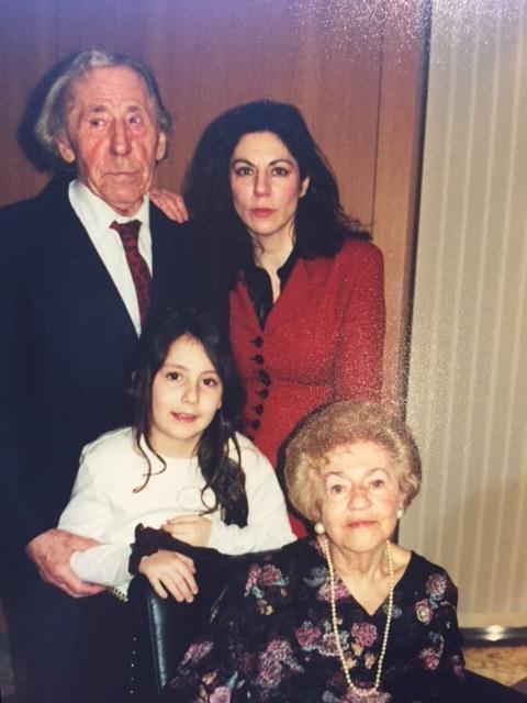 Amé (Maryla's husband), Alice, Maryla, and Serena