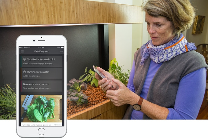 Smart sensors and Wi-Fi connectivity help you cultivate a healthy Ecosystem 24/7.