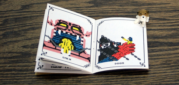 Fingers of Doom / Risograph zine by Perfectly Acceptable