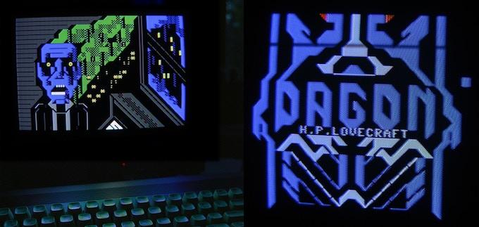 PETSCII graphics made with C64