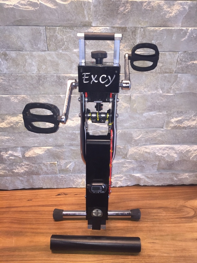 The Excy Keeper establishes a strong connection between the user and our cycling system -- even at high levels of resistance -- by simply using body weight, whether in a standing, kneeling, lying, or sitting position.