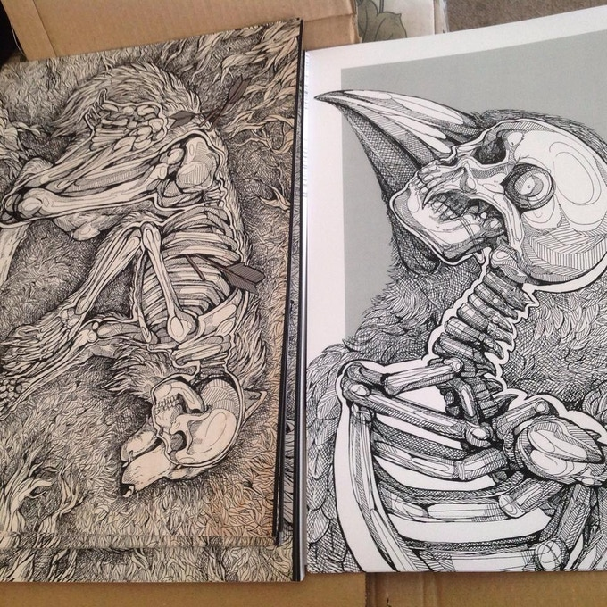 Example of the A4 prints you can choose from