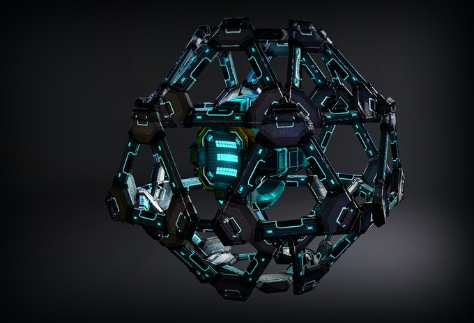 """HEX & Plate assets """"Cryosphere"""" blueprint"""