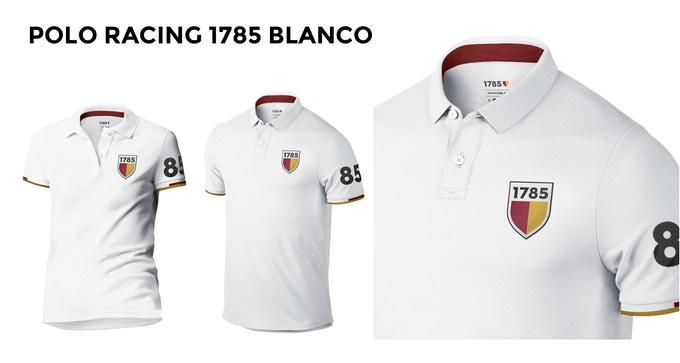POLO RACING 1785 BLANCO