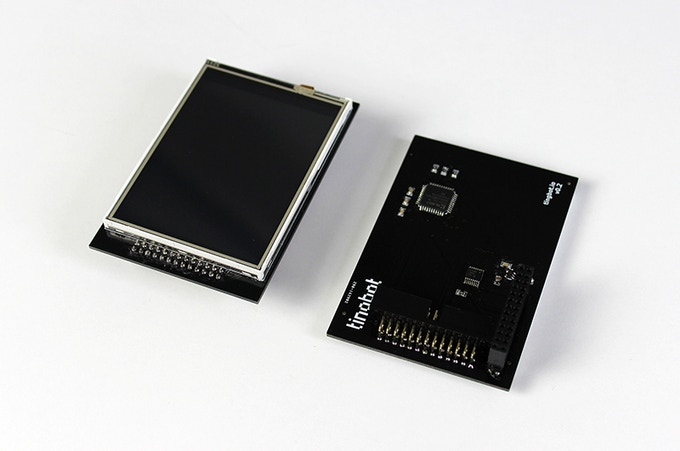 A closer look under the hood of our Tingbot module