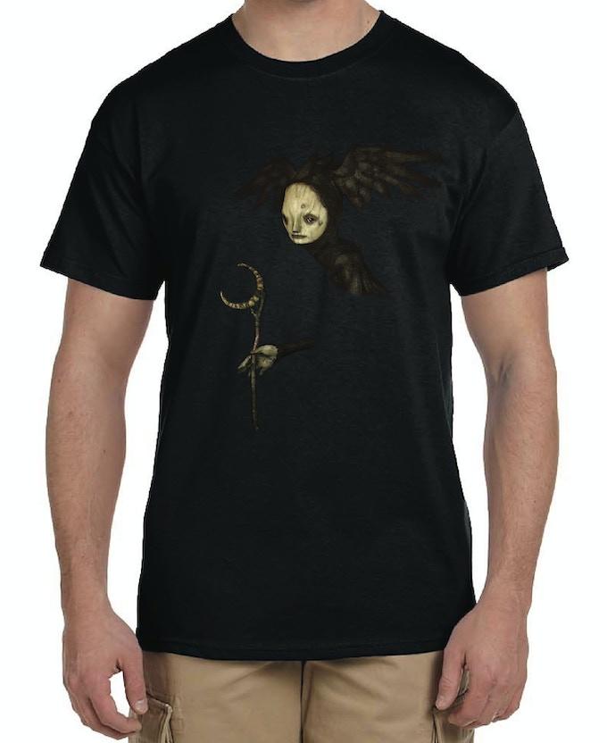 Mock Up of T-Shirt --> Men's (Unisex)