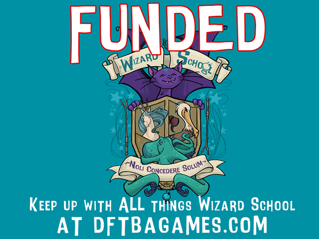 Wizard School by DFTBA Games — Kickstarter