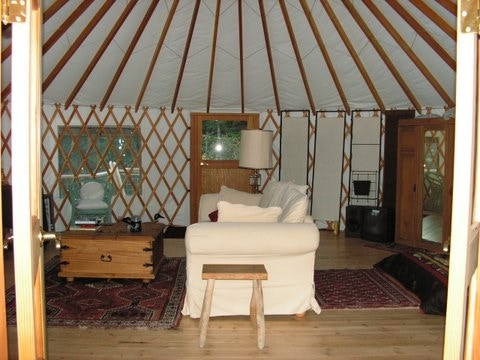 Glamping at Eagle Heart Sanctuary