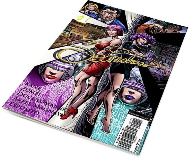Seamstress Comic issue 1