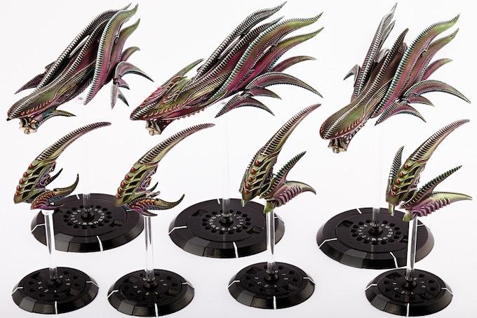Scourge Starter Fleet Models
