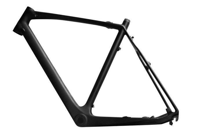 The EC1 Carbon frame weighs only 1.15 kg/2.53 lbs