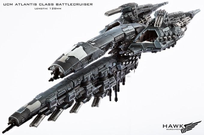 KS Exclusive UCM Battlecruiser