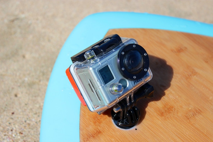 Camera mount on all boards