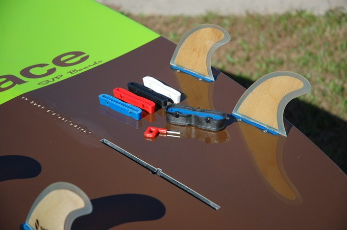 ProBox Fin System shown with angle inserts
