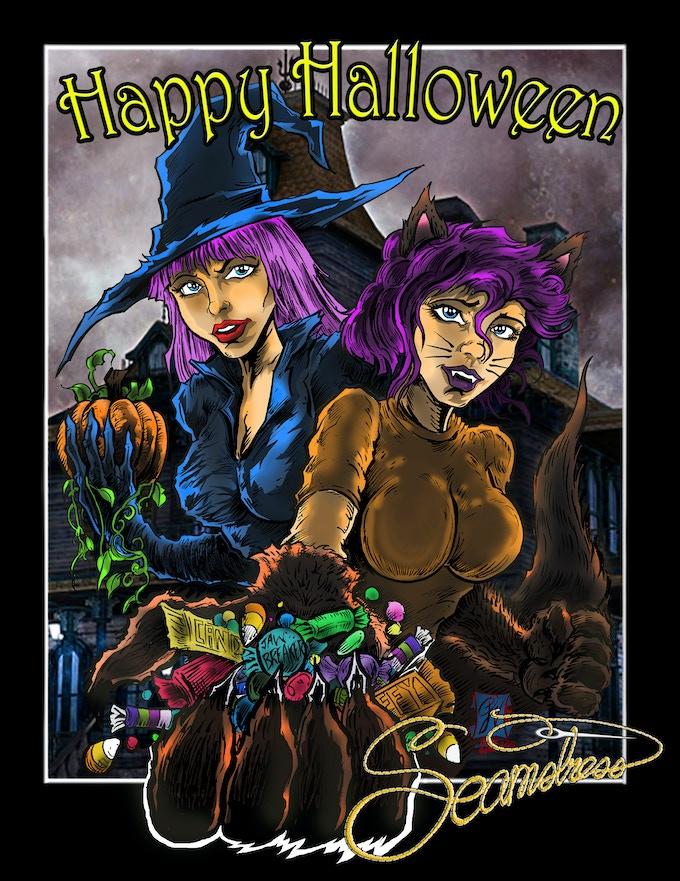 Phill Will Halloween Kickstarter Exclusive Print