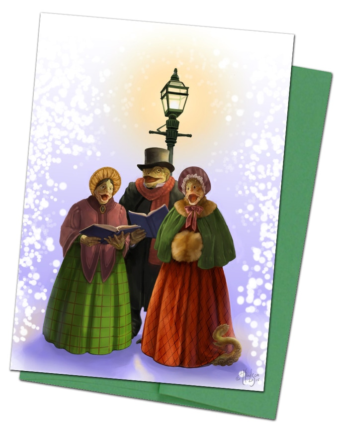 Card #5 The Innsmouth Carolers