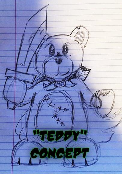 """Sir Theodore Bearsly aka """"Teddy"""""""