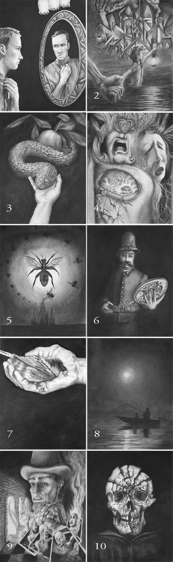These images are available individually in the ORIGINAL CHARCOAL ILLUSTRATIONS package. Limit: 10