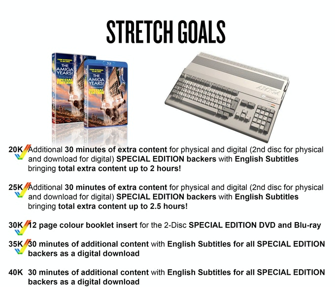Special Edition Stretch Goals!