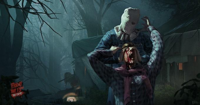 Horror Mash-up! Sackhead Jason from Part II performing the Head Crush Kill from Part III!