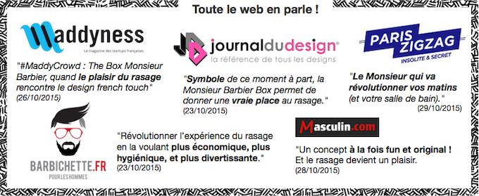The Monsieur Barbier Box   Shaving   Music, Razor   Style. by GANAEL ... 51b5df102ff