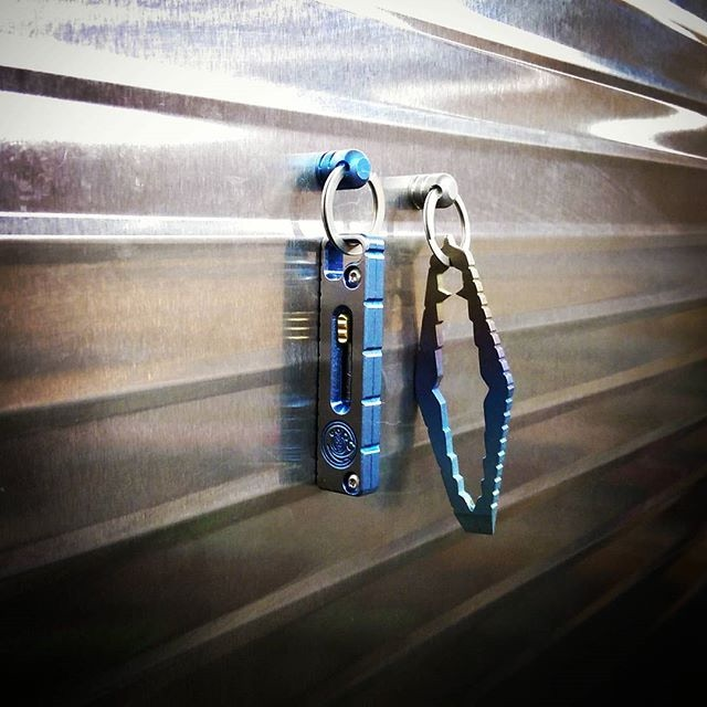 Ti Mqr Titanium Magnetic Quick Release Edc Keychain By