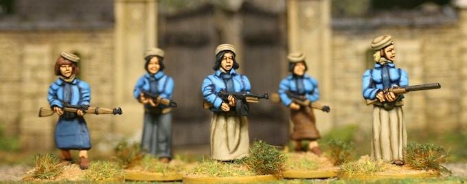 Female Militia 2 (including Thompson and shotgun)