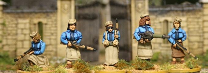 Female Militia 1 (including Lewis gun team)