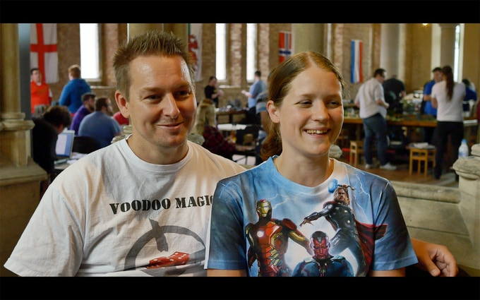 Damon & Silje, youtuber and commission painter.