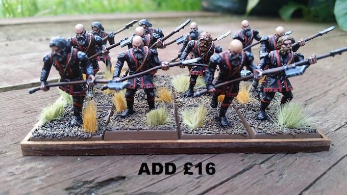 Infantry spear option