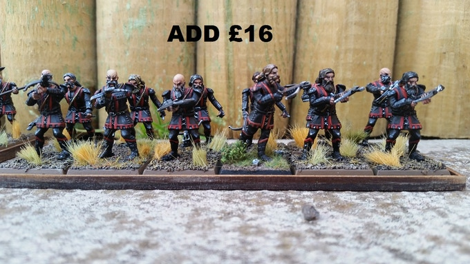 Infantry Crossbow Option