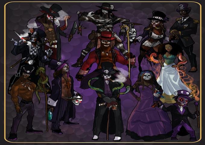 Skulls (Pentacles) Suit