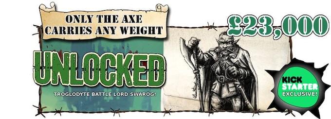 Troglodyte Battle Lord Swarog Unlocked!