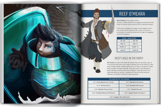 Reef's Hero Page